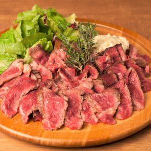 食べ応えのある熟成肉!